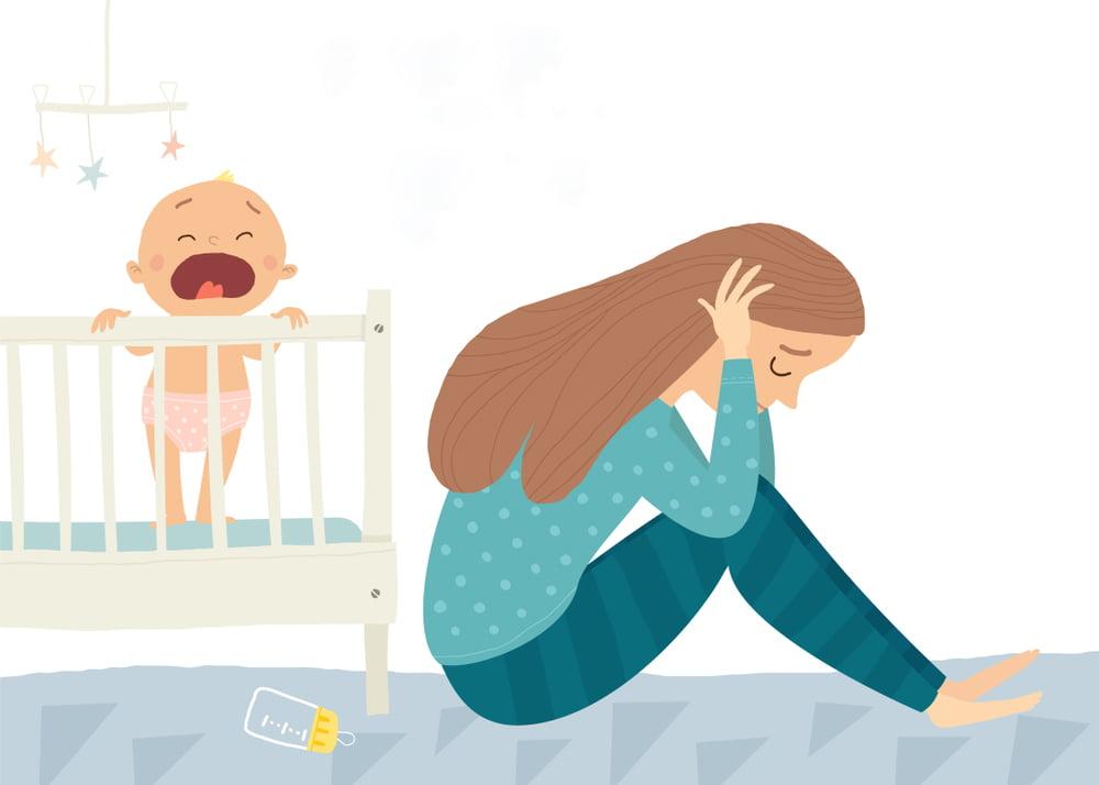 Hậu quả khôn lường của trầm cảm sau sinh